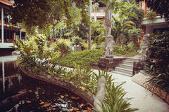 Beautiful villa in Kuta Stock Image