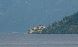 Beautiful villa at lake Como. Royalty Free Stock Photography