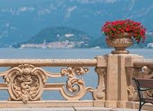Beautiful villa at lake Como. Stock Photography