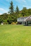 Beautiful villa, outdoor Royalty Free Stock Image