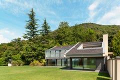 Beautiful villa, outdoor Royalty Free Stock Photo
