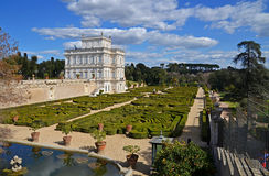 Beautiful villa pamphili in rome Stock Images