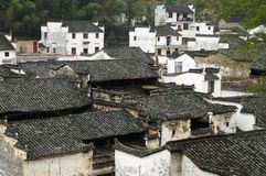 Beautiful village-1. Beautiful village in wuyuan, which is regarded as the most beautiful country in China royalty free stock photography