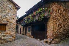 Beautiful village Barcena Maior in Asturia y Cantabria, Spain. Image of Beautiful village Barcena Maior in Asturia y Cantabria, Spain Stock Photography