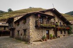 Beautiful village Barcena Maior in Asturia y Cantabria, Spain. Image of Beautiful village Barcena Maior in Asturia y Cantabria, Spain Royalty Free Stock Photography