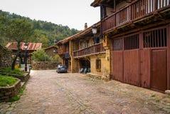 Beautiful village Barcena Maior in Asturia y Cantabria, Spain. Image of Beautiful village Barcena Maior in Asturia y Cantabria, Spain Stock Image