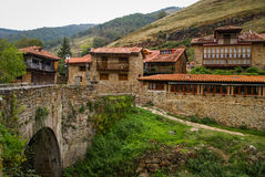 Beautiful village Barcena Maior in Asturia y Cantabria, Spain. Image of Beautiful village Barcena Maior in Asturia y Cantabria, Spain Stock Photo