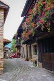 Beautiful village Barcena Maior in Asturia y Cantabria, Spain. Image of Beautiful village Barcena Maior in Asturia y Cantabria, Spain Royalty Free Stock Image