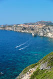 Beautiful village of Bonifacio (Corsica, France) Royalty Free Stock Photos
