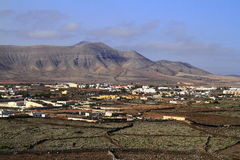 Beautiful village on Fuerteventura, Canary Islands Stock Photos
