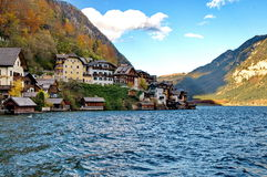 Beautiful village of Hallstatt Stock Photography