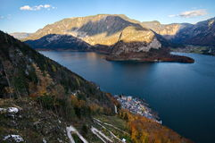 Beautiful village of Hallstatt Royalty Free Stock Image