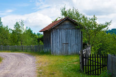 Beautiful village house Stock Photography