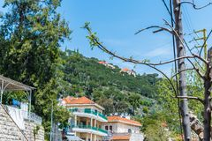 Beautiful village in Lebanon taken by me royalty free stock photography
