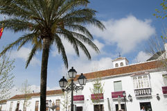 Beautiful Village of Mijas on the Costa del sol Spain Stock Photos