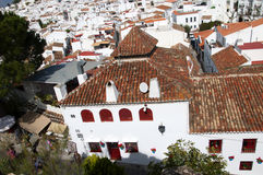 Beautiful Village of Mijas on the Costa del sol Spain Royalty Free Stock Image