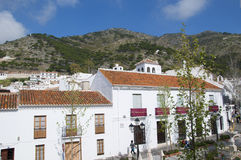 Beautiful Village of Mijas on the Costa del sol Spain Stock Photo