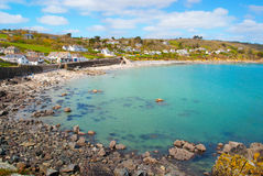 Beautiful Village Of Coverack Stock Image