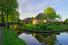 Beautiful Village Royalty Free Stock Photos