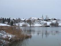 Beautiful Village Seegraeben Royalty Free Stock Image