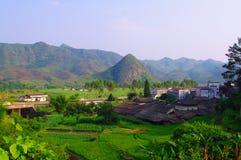 Beautiful village of southwest china Stock Photography