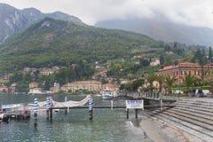 Lake of Como at Menaggio Stock Image