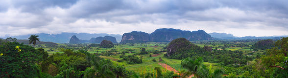 The beautiful Vinales Valley Royalty Free Stock Images