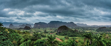 The beautiful Vinales Valley in Cuba. Stock Photography