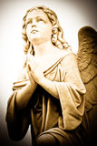 Beautiful vintage angel Royalty Free Stock Images
