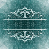 Beautiful vintage background with floral pattern Royalty Free Stock Images