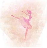 Beautiful vintage ballerina Stock Photo