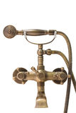 Beautiful vintage brass douche Royalty Free Stock Photo