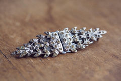 Beautiful vintage brooche Royalty Free Stock Photography