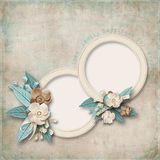 Beautiful vintage card Royalty Free Stock Photo