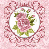Beautiful vintage card Royalty Free Stock Images