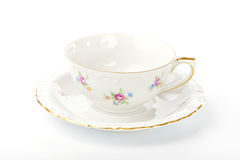Beautiful vintage cup and saucer Stock Photos