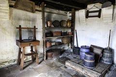 Vintage farm interior Kommandorgaard, on Romo Royalty Free Stock Image