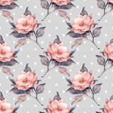 Beautiful vintage floral pattern 11 Stock Photos