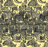Beautiful vintage floral seamless for your business. Colorful Paisley pattern for textile