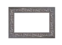 Beautiful vintage frame isolated on white background Stock Photos
