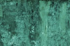 Beautiful Vintage light turquoise Background. Abstract Grunge Decorative Stucco Wall Texture. Wide Rough Background royalty free stock image