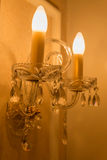Beautiful Vintage Lighting decor for building interiors Royalty Free Stock Photography