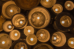 Beautiful Vintage Lighting decor for building interiors Royalty Free Stock Image