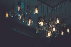 Vintage luxury light bulb Stock Photography
