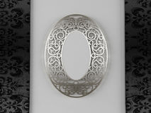 A beautiful vintage mirror Royalty Free Stock Image