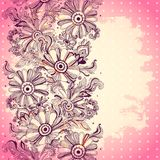 Beautiful vintage ornament Stock Image