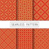 A pack of vintage pattern designs Royalty Free Stock Images