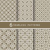 A pack of vintage pattern designs Royalty Free Stock Photo
