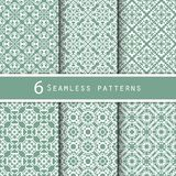 A pack of vintage pattern designs Royalty Free Stock Photos