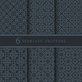 A pack of vintage pattern designs Stock Photos